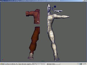 character body obj free