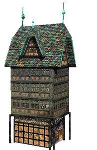 3d german house