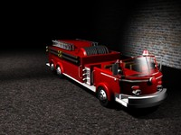 emergency hose sirens 3d model