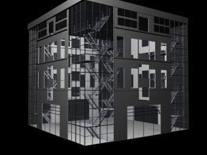 buildings 3d max