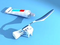 dental care 3d model
