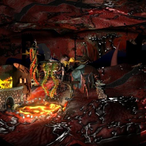 hell bosch 3d model