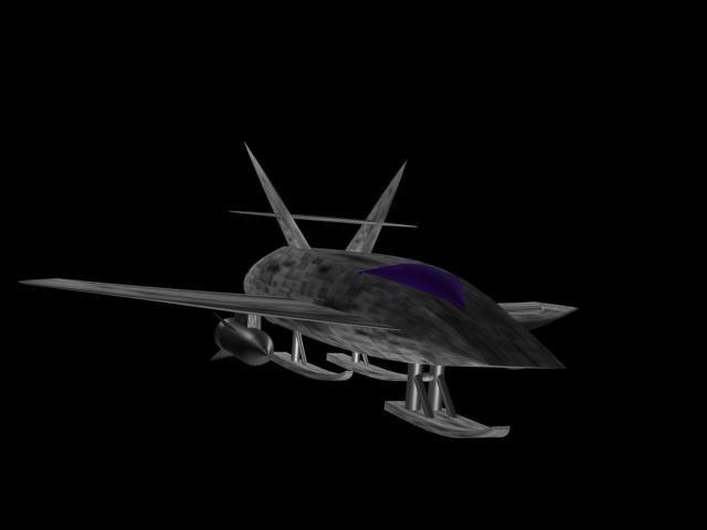 space ship max