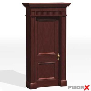 3d model of door