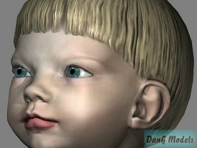 childrens child 3d model