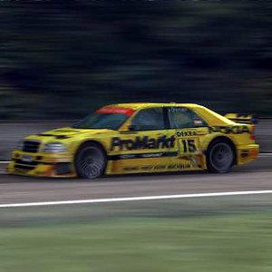 mercedes c class touring car 3ds