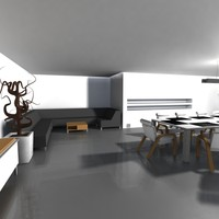 3d meeting room model