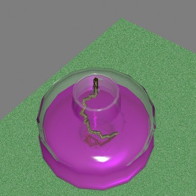 free lab equipment spirit burner 3d model