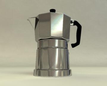 moka coffee 3d ma