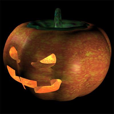cinema4d pumpkin