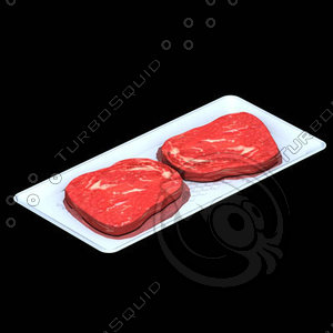 3ds max meat tray