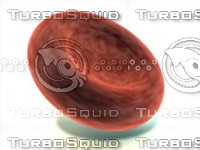 3d red blood