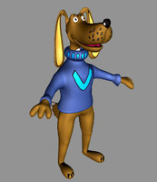 free max mode dog cartoon