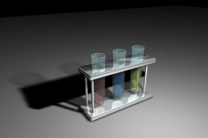 cinema4d test glass