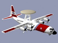 Hercules EC-130V United States Coast Guard
