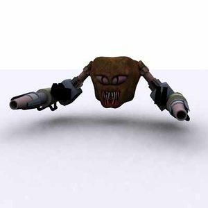 evil cyborg alien 3ds free