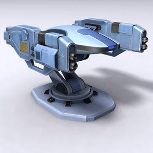 sentinel 3d model