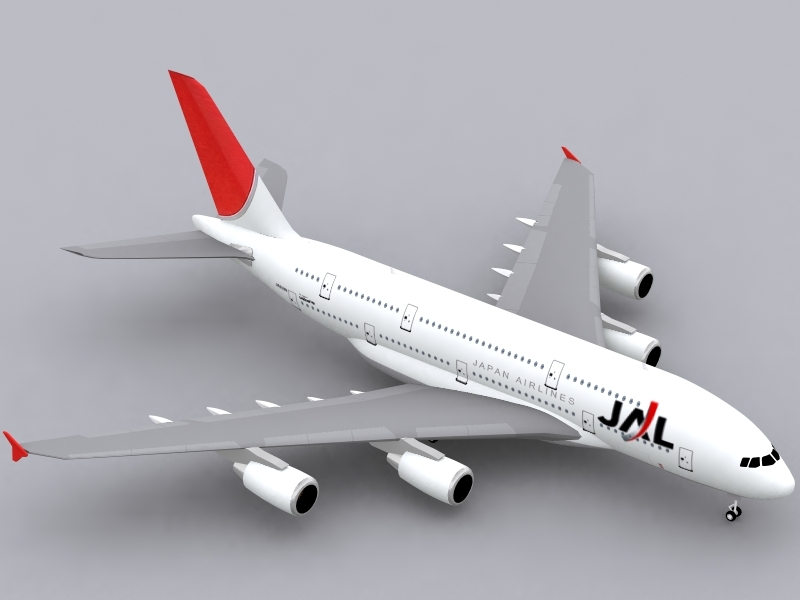 3ds max airbus a380-800 a380