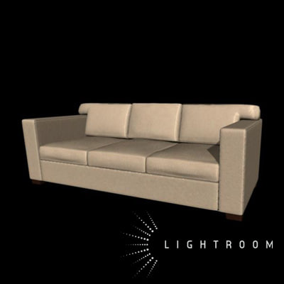 couch seat 3d ma