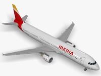 Airbus A321 Iberia