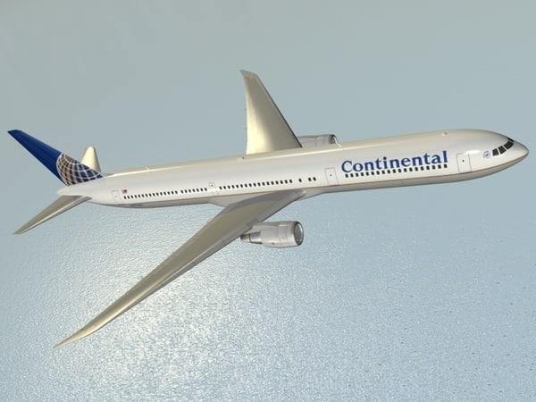 maya b 767-400 er continental airlines