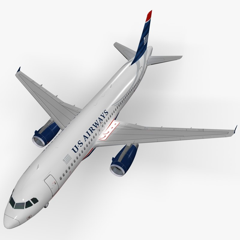 airbus a320 airways 3d max
