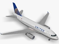 dwg airbus a319 united airlines
