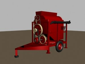 thresher 3d model