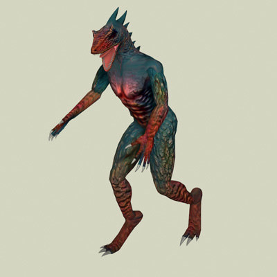3d model imagination creatures