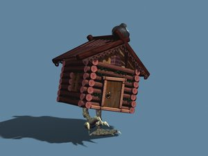 free hut witch 3d model
