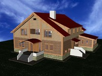 house project 3d max