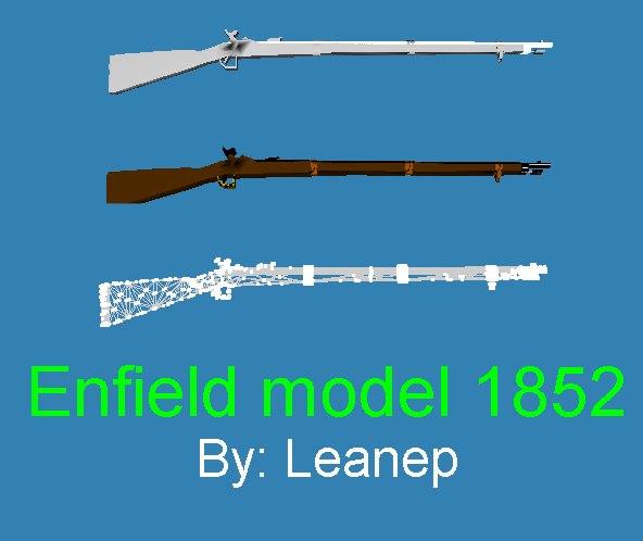 3d enfield rifle ms3d