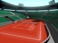 Tennis Court arena