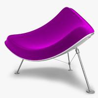 modern design chair c4d