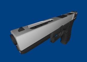 glock 18c 3d model