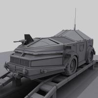 3d transporter truck