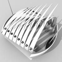 kuwait expo 3d model