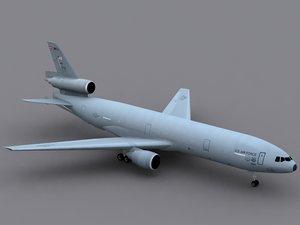 3d model kc-10a extender kc-10