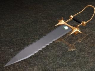 3dsmax katar blade swords