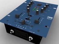 3d hi dj mixer model