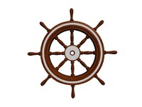 3d nautical steering