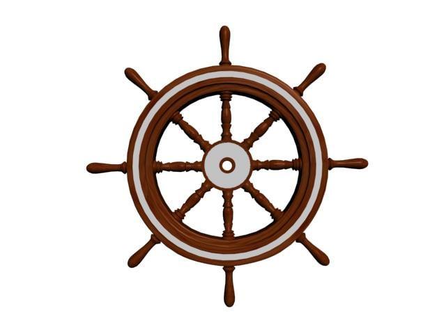 3d nautical steering