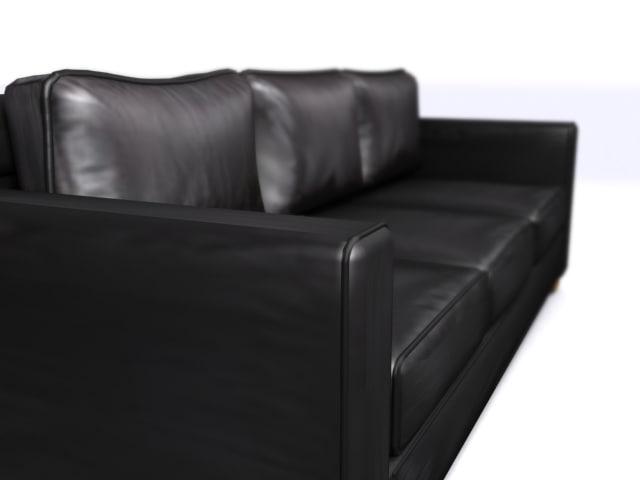 city sofa 3d model