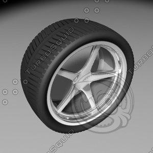 maya wheel