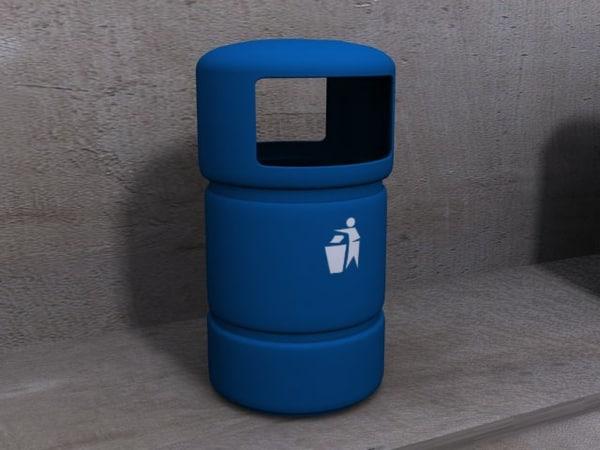 3d street bin