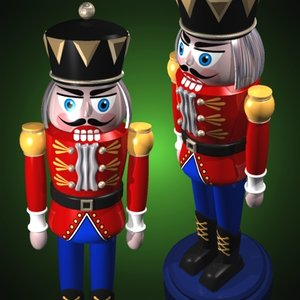 nutcracker soldier 3d model