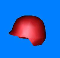 free dxf model helmet