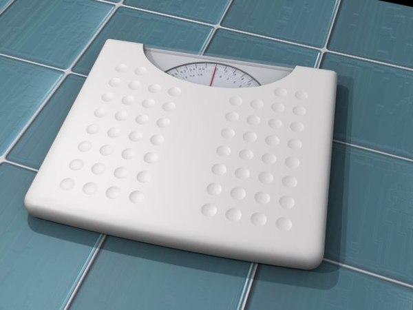 3d room scales model