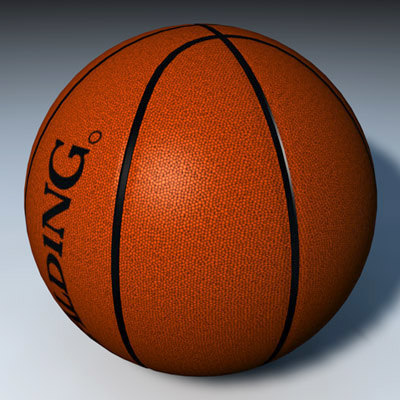 basketball ball c4d