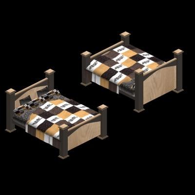 maya modern bed